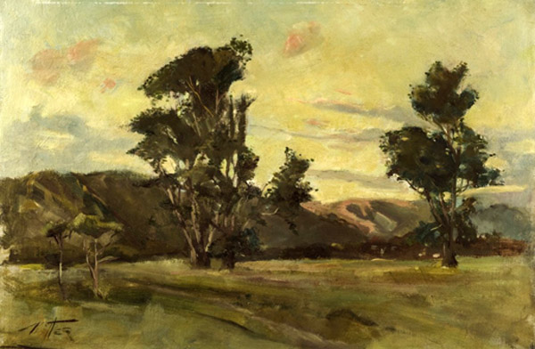 William Tiller 2, Silverstream, oil