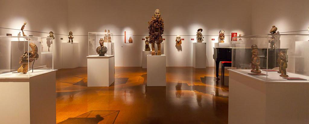MINKISI installation at Aigantighe, Timaru