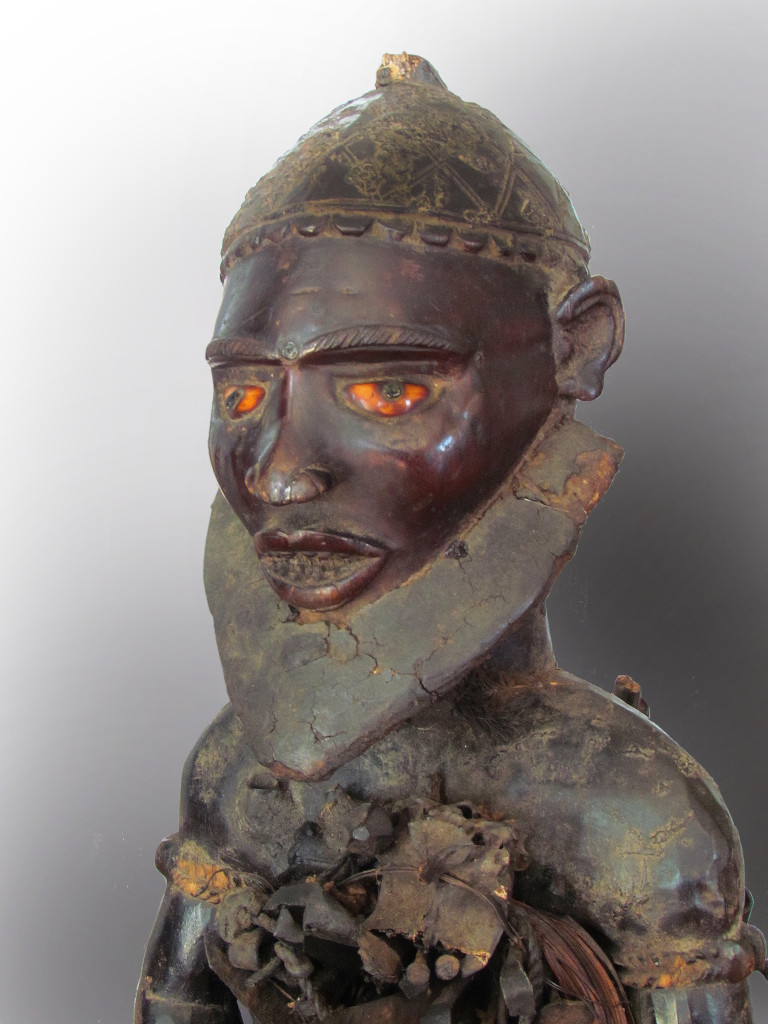 Nkonde power figure, Bakongo group, Rep. of Congo