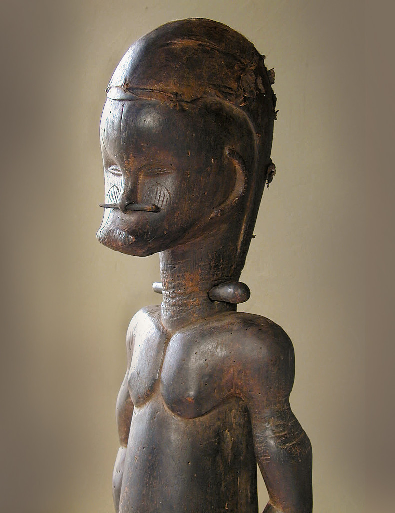 Guardian figure, Fang, Gabon